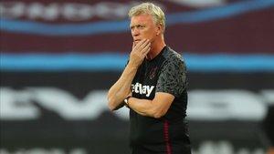 David Moyes, técnico del West Ham