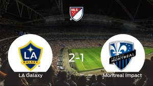 El LA Galaxy consigue la victoria en casa frente al Montreal Impact (2-1)