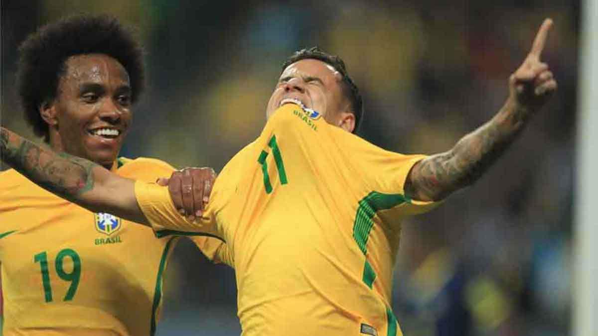 El gol de Coutinho contra Ecuador