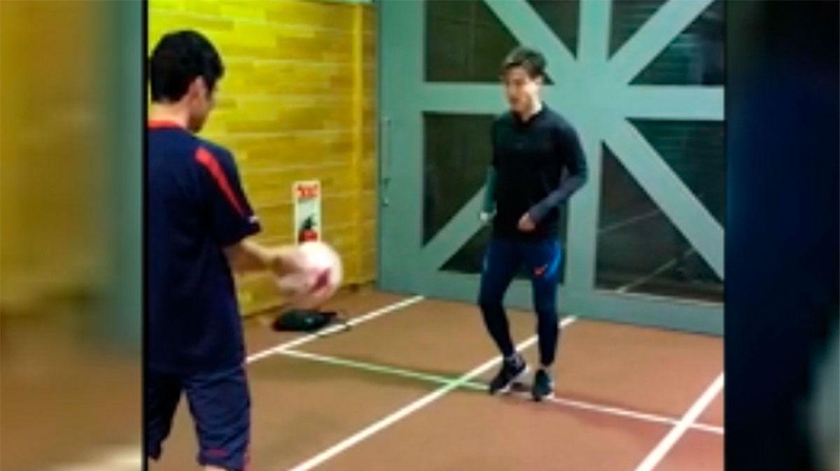 Hiroki Abe se recupera de su lesión en Japón