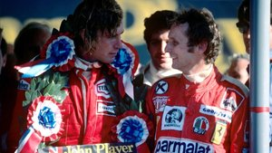 James Hunt y Niki Lauda, dos leyendas