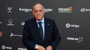 Javier Tebas ya piensa en la posibilidad de que los clubes se acogan a los ERTES.