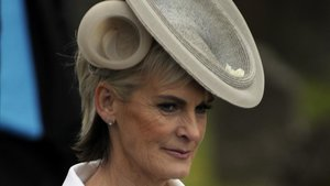 Judy Murray, madre del tenista británico Andy Murray