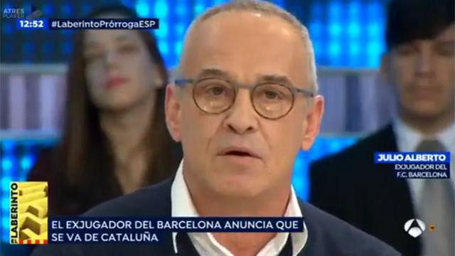Julio Alberto anunció que dejará Catalunya