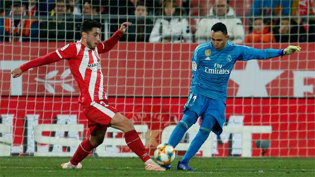 Keylor Navas sigue dando motivos para ser titular en el Madrid