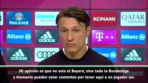 Kovac, encantado con la llegada de Coutinho