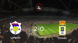 El Langreo se impone por 2-0 al Real Oviedo B