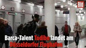 Las imáfgenes en las que se ve a Todibo en Alemania