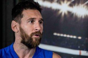 Las imágenes de la entrevista en exclusiva de SPORT a Leo Messi.