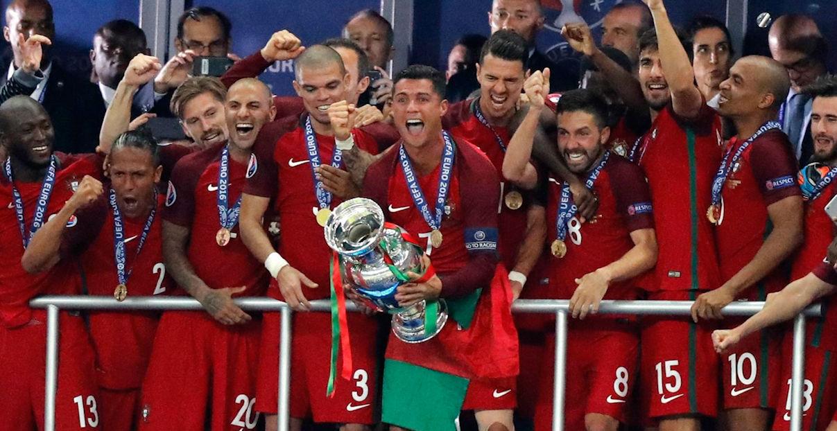 Las mejores imágenes de la final de la Eurocopa