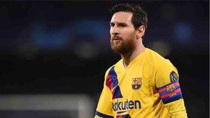 Leo Messi tiene contrato con el FC Barcelona hasta 2021