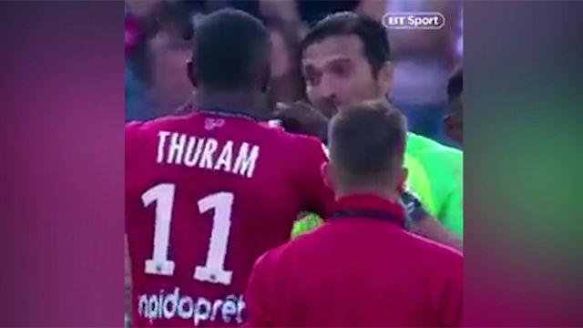 Leyenda Buffon: de jugar con Lilian Thuram a enfrentarse a su hijo Marcus 21 años después