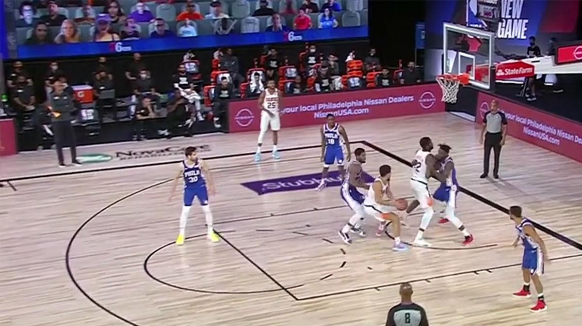 Los Suns pueden con los 76ers