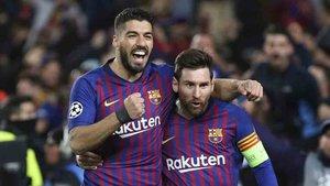 Luis Suárez y Messi esperan batir al Atlético para sentenciar la Liga