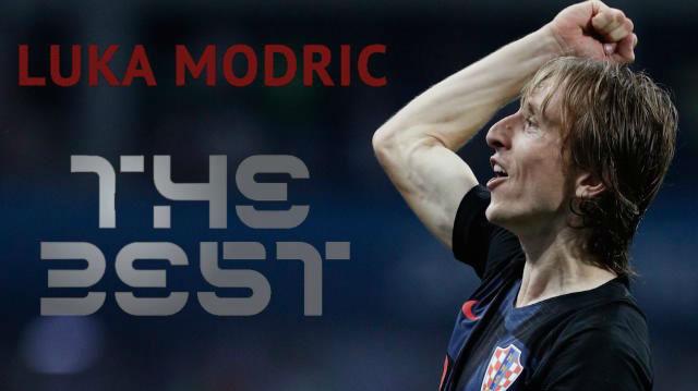 Luka Modric gana el The Best de la FIFA