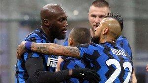 Lukaku volvió a ser decisivo en el triunfo del Inter
