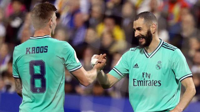 El Madrid no encuentra rival en La Romareda