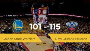 New Orleans Pelicans vence a Golden State Warriors (101-115)
