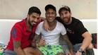 Neymar cuenta con el apoyo de Messi y Luis Suárez