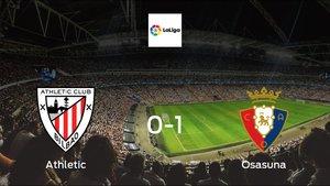 Osasuna cruise to a 0-1 win over Athletic Bilbao at San Mames