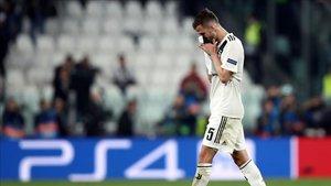 Pjanic, en un partido de la Juventus