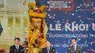 El presidente de la FIA Jean Todt, en la ceremonia de presentación del GP de Vietnam