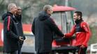 El presidente Rybolovlev y el vicepresidente Vasilyev avalan la renovación del portugués