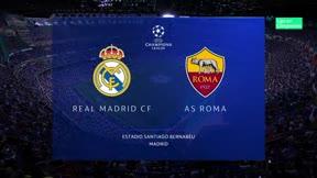 El Real Madrid vence y convence ante la Roma