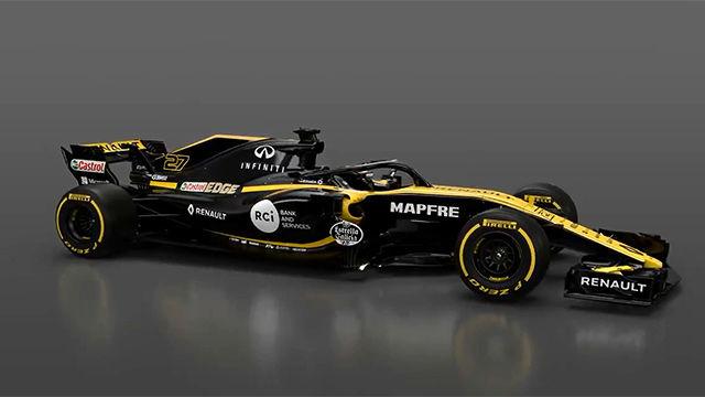 Renault presentó su nuevo monoplaza para esta temporada