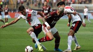 River Plate y Flamengo disputaron la final de la Copa Libertadores 2019