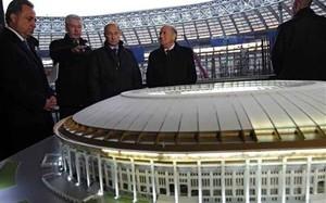 Rusia y FIFA reducen aforo del estadio Luzhnikí, sede de la final mundialista