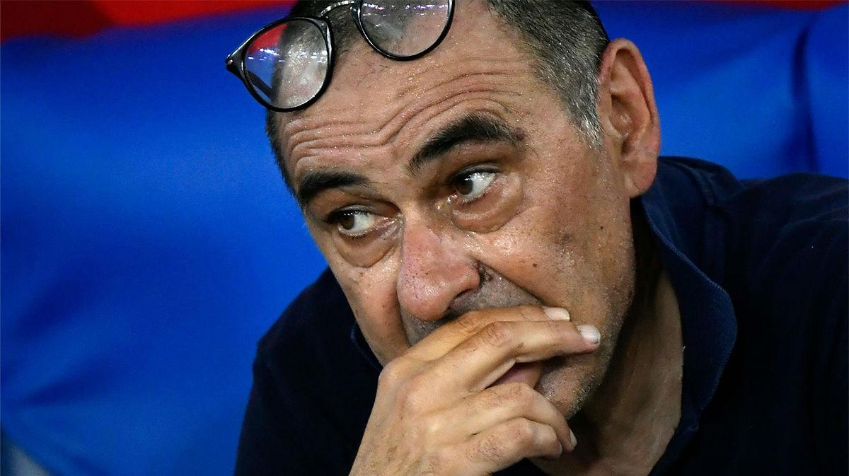 Sarri, sobre la sustitución imprevista de Pjanic: Estaba un poco nervioso