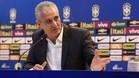 El seleccionador brasileño, Adenor Leonardo Bacchi Tite, durante una rueda de prensa