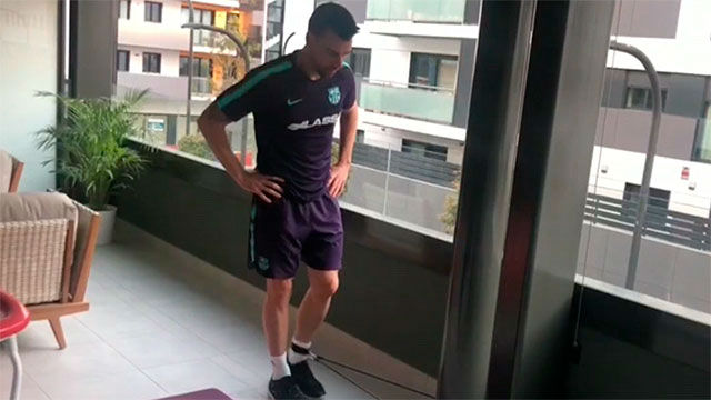 Sergio Lozano: No es fácil recuperarse de la lesión en pleno confinamiento