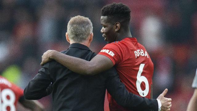 Solksjaer: Paul Pogba jugará con nosotros