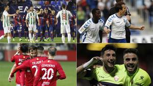 Todos los goles de la jornada 26 de la Liga 123