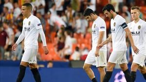 El Valencia todavía no ha conseguido ninguna victoria