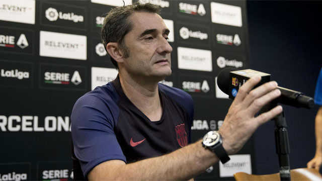 Valverde: Dudo que recuperemos a Messi para el viernes