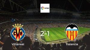 Villarreal earned hard-fought win over Valencia 2-1 at Estadio de La Ceramica