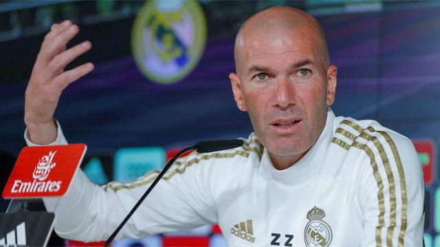 Zidane: Jugaremos el Clásico cuando nos digan