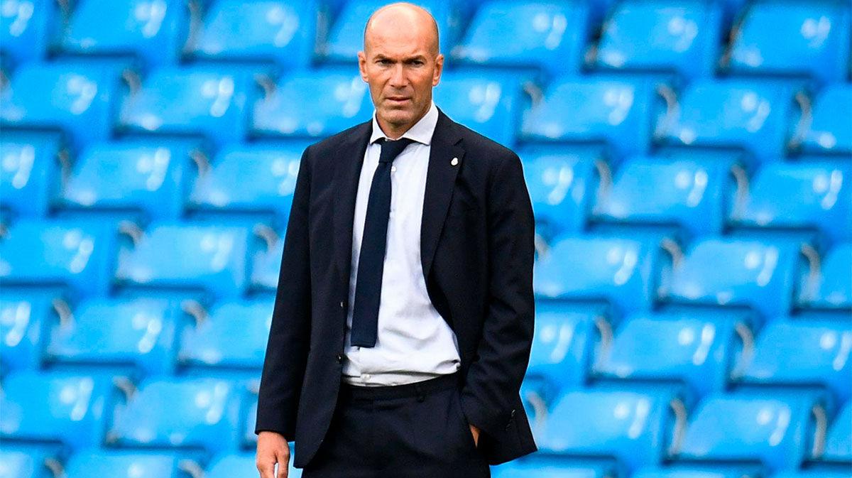 Zidane: A Varane hay que decirle que cabeza alta