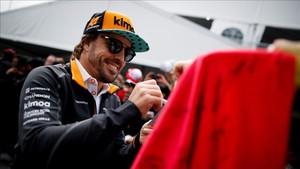 Alonso confía en mejorar en carrera