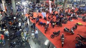 El salón Vive la Moto de Barcelona se celebrará en abril.