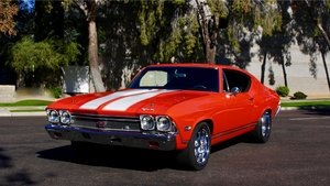 Playmouth Cuda Custom Coupe de 1970 de Larry Fitzgerald.