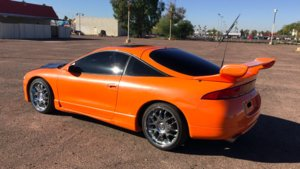 Mitsubishi Eclipse de Resacón en Las Vegas.