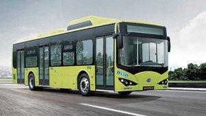 Autobús eléctrico BYD.