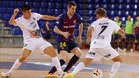 Adrián Ortego acabará su contrato con el FC Barcelona jugando en el Emotion Zaragoza