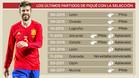 Así han sido los últimos partidos de Piqué con la 'Roja' en tierras españolas