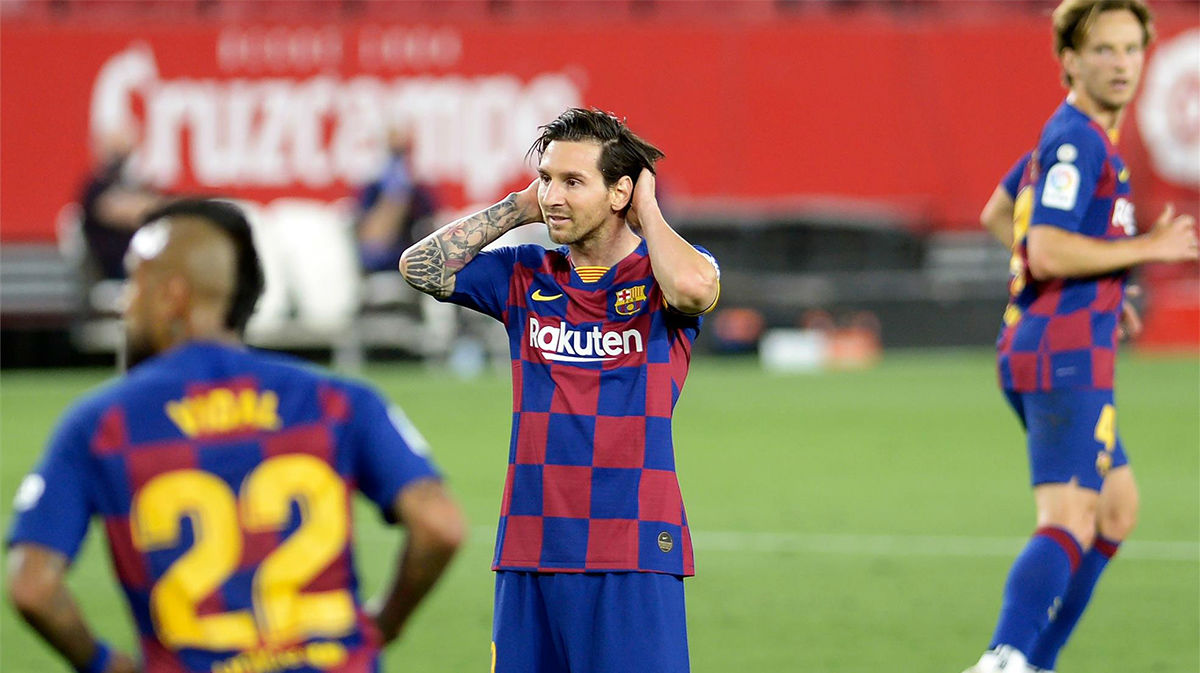 Así se quedó a medias el Barça en Sevilla: el resumen