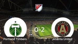 El Atlanta United se lleva el triunfo después de vencer 0-2 al Portland Timbers